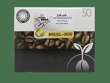 Café en grain ou dosette compatible nespresso